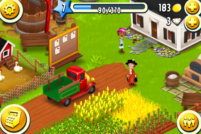 Scarica Hay Day per iOS. Un gioco emozionante per la fattoria 2