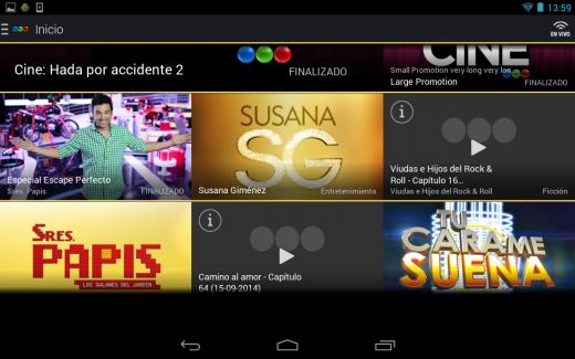 Scarica My Telefé per Android: il Telefé sul tuo Android 1