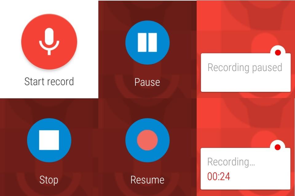 Scarica Pocket Recorder per Android 3