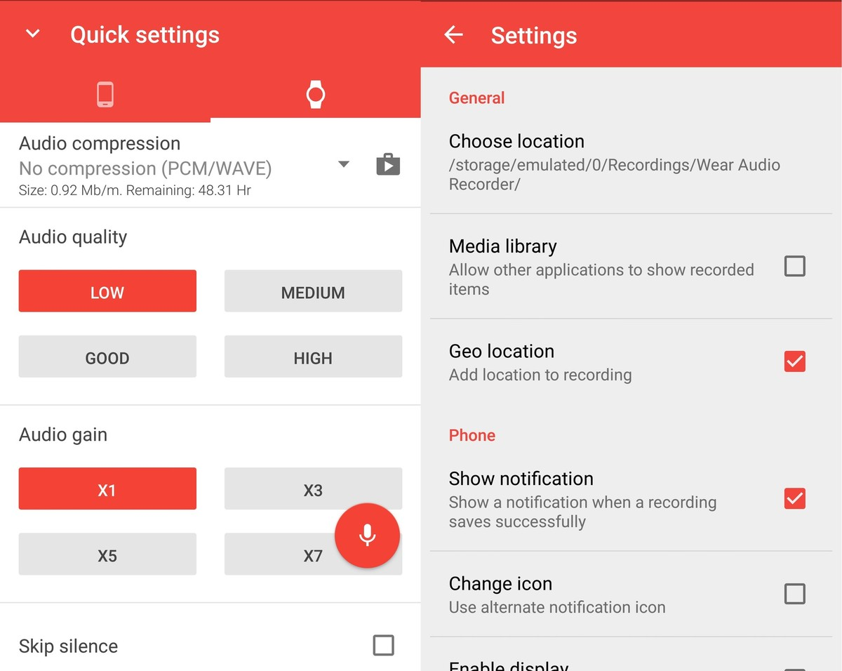 Scarica Pocket Recorder per Android 4