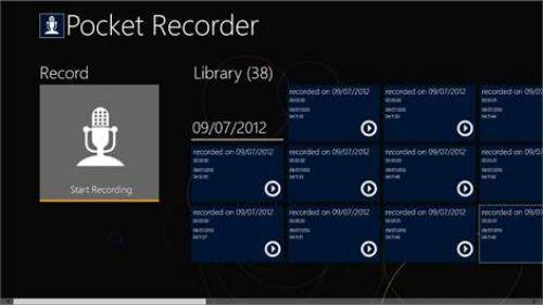 Scarica Pocket Recorder per Android 1
