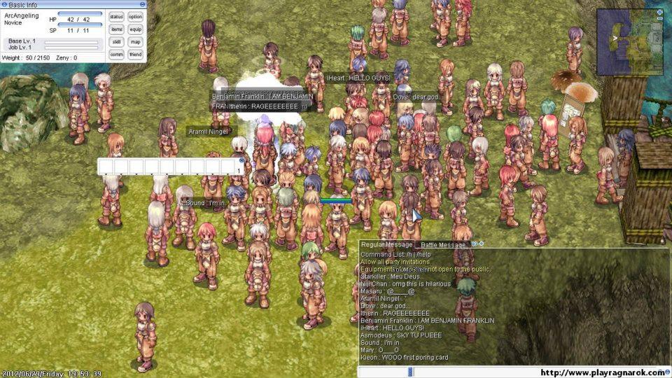 Come giocare a Ragnarok online su Android. Il MMORPG Classic 1