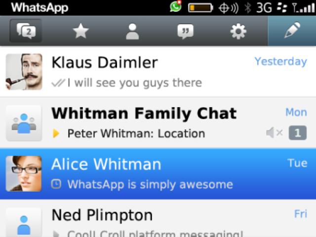 Come scaricare WhatsApp Free per BlackBerry 9320? 3