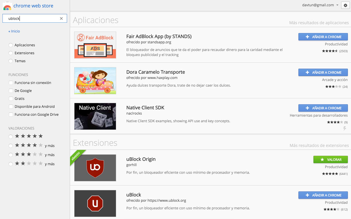 Come abilitare e disabilitare estensioni e plugin in Chrome 1