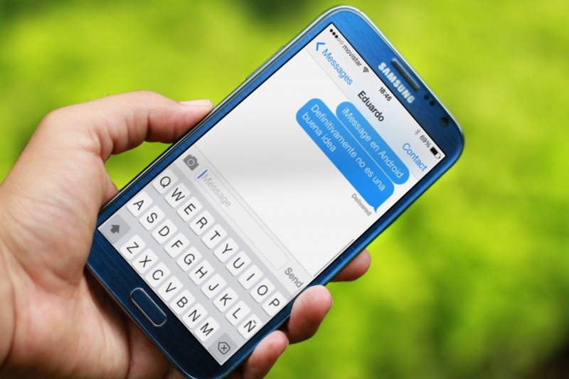 Scarica iMessage per Android: Apple Messaging 1