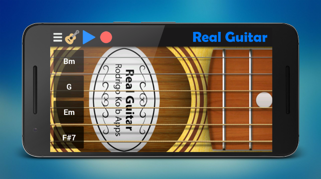 Scarica Real Guitar per Android 1