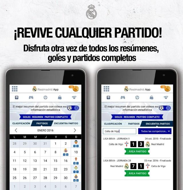 Scarica l'app del Real Madrid per Android 2