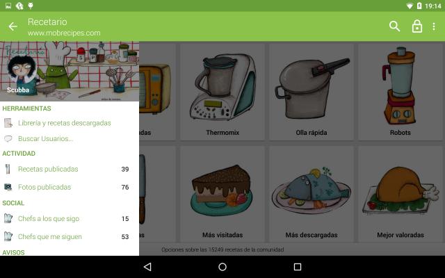 Scarica le ricette di cucina per Android 3