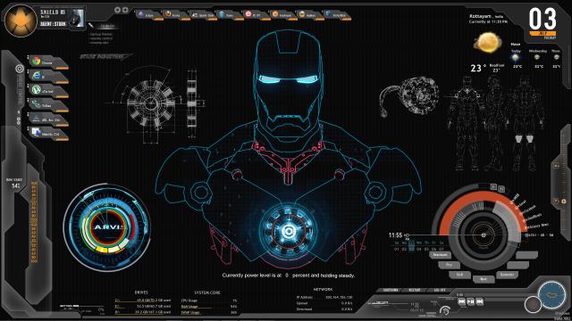 Scarica il tema Iron Man per Android, il miglior vendicatore 1