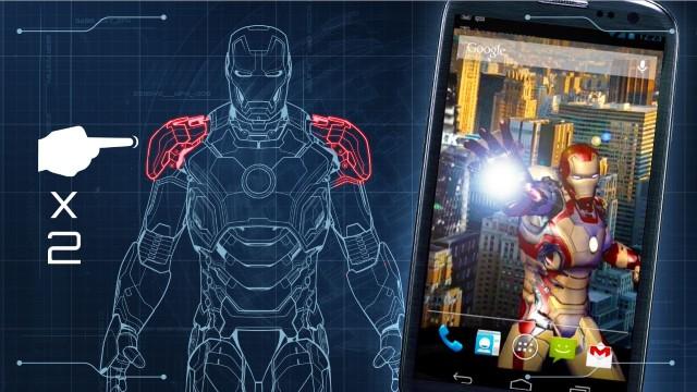 Scarica il tema Iron Man per Android, il miglior vendicatore 2