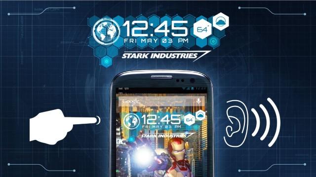 Scarica il tema Iron Man per Android, il miglior vendicatore 3