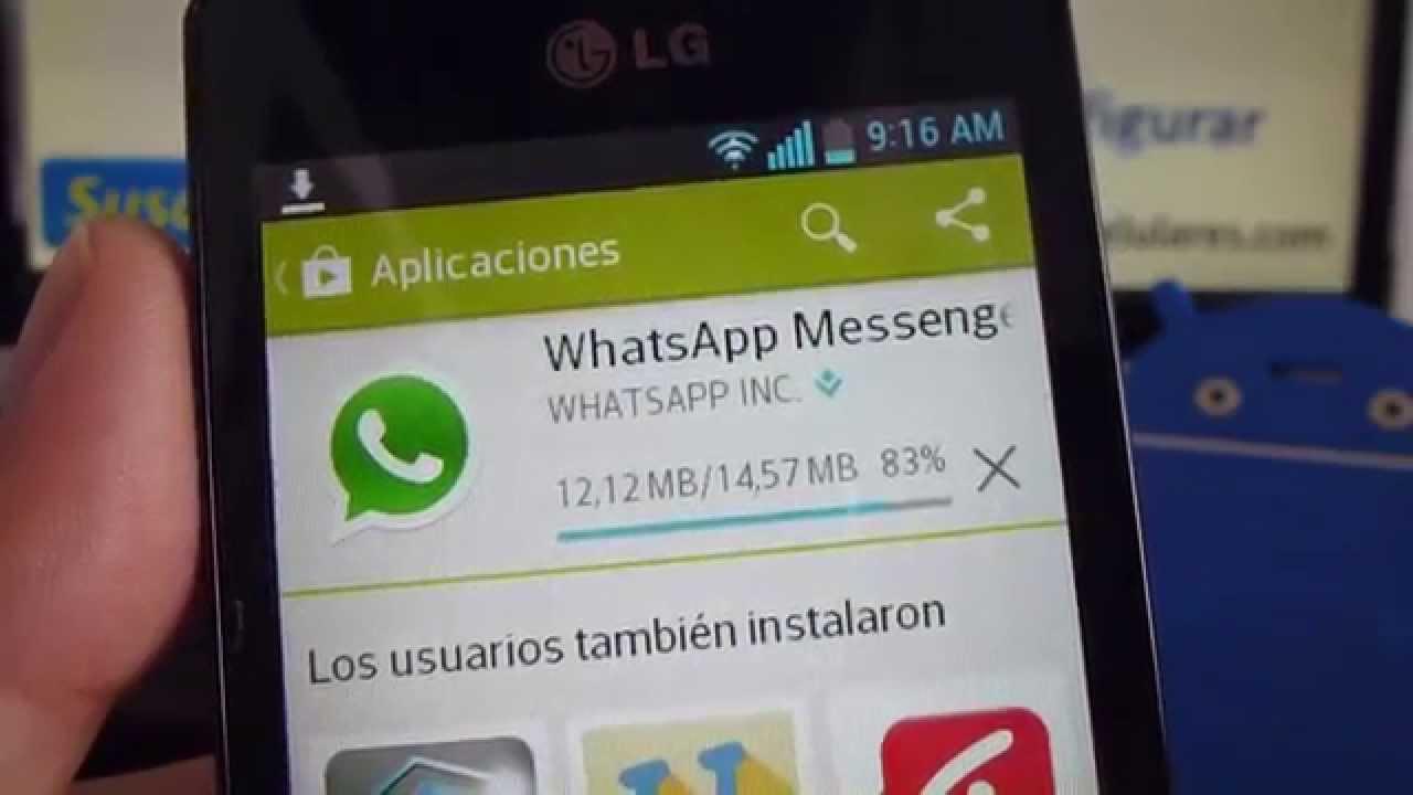 Come scaricare un aggiornamento WhatsApp 2019 su LG 1