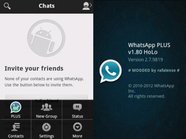 Dove scaricare WhatsApp Plus Holo Free per Android? 2