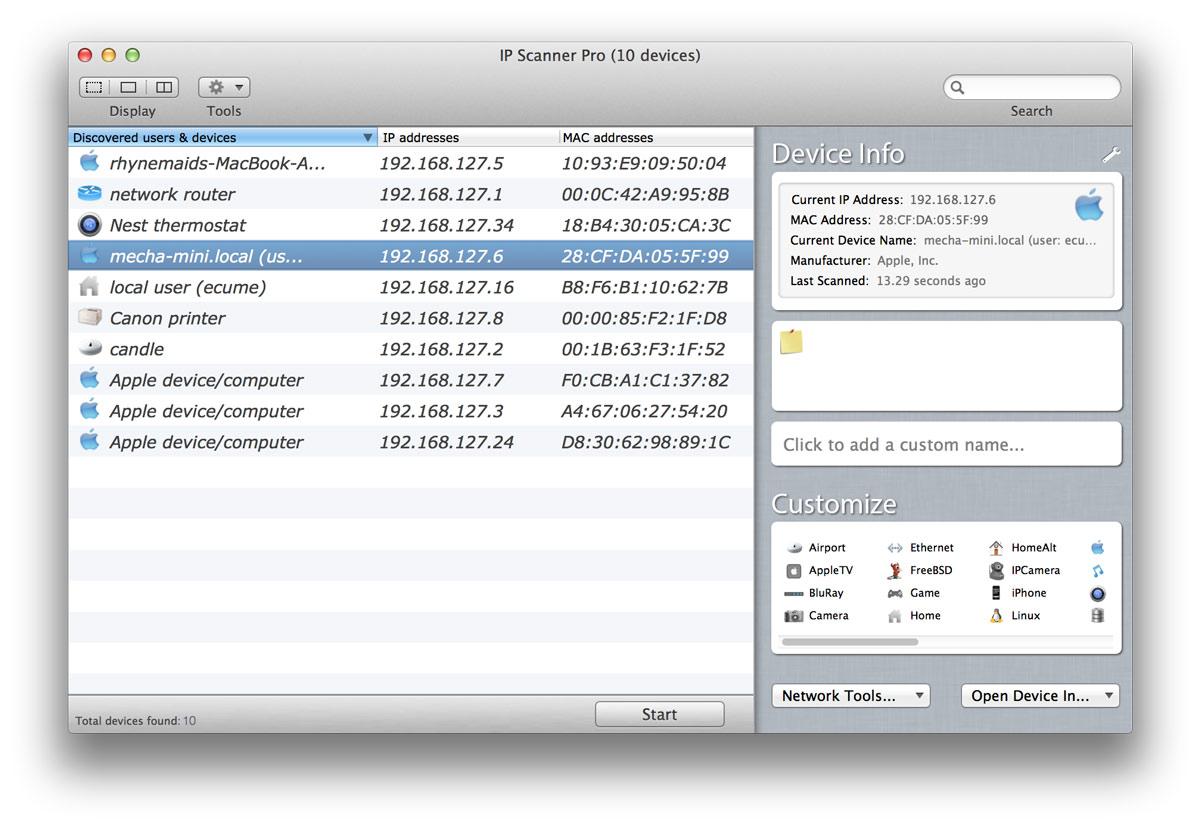 Come sapere quante persone sono connesse al mio WiFi su Mac 1