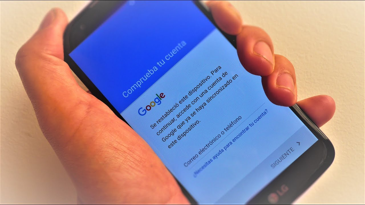 Come verificare l'account Google dopo aver ripristinato il mio cellulare 1