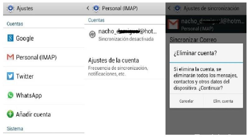 Come scollegare l'account e-mail Gmail su Android? Guida passo passo 2