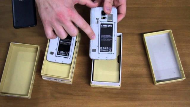10 modi per differenziare il Samsung Galaxy S5 dal clone cinese 2