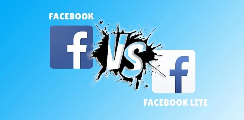 Quali sono le differenze tra Facebook Lite e Facebook APP «normale»? Quale è meglio? 1