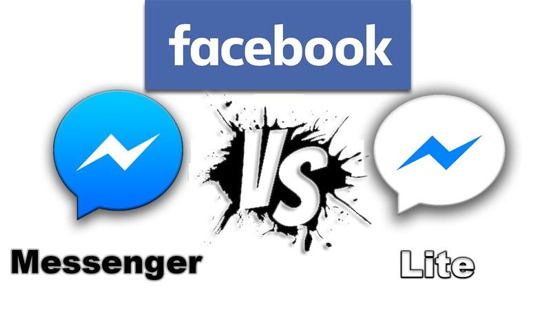 Quali sono le differenze tra le app di Facebook Messenger e Facebook Messenger Lite? 1