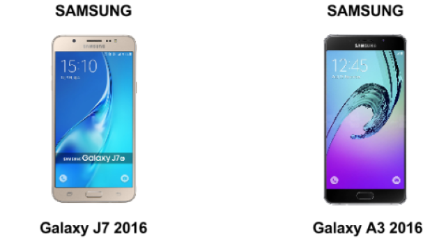Differenze tra Samsung J7 e A3: chi vince la battaglia? 1