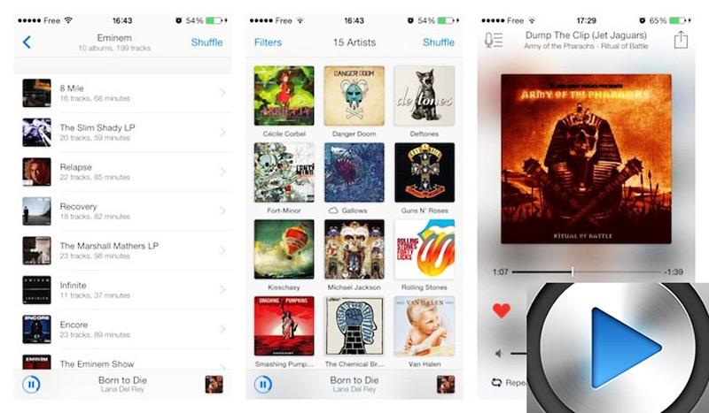 Quali sono i migliori lettori e app musicali gratuiti per iPhone, iPod e iPad? 2019 14