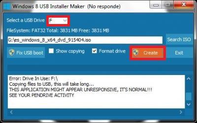 Come creare un USB avviabile o avviabile per installare Windows 8 e 8.1 da un pendrive esterno? Guida passo passo 1