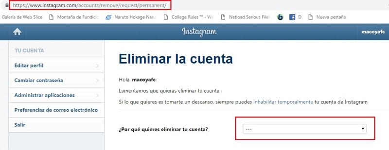 Come disattivare temporaneamente il tuo account Instagram? Guida passo passo 6