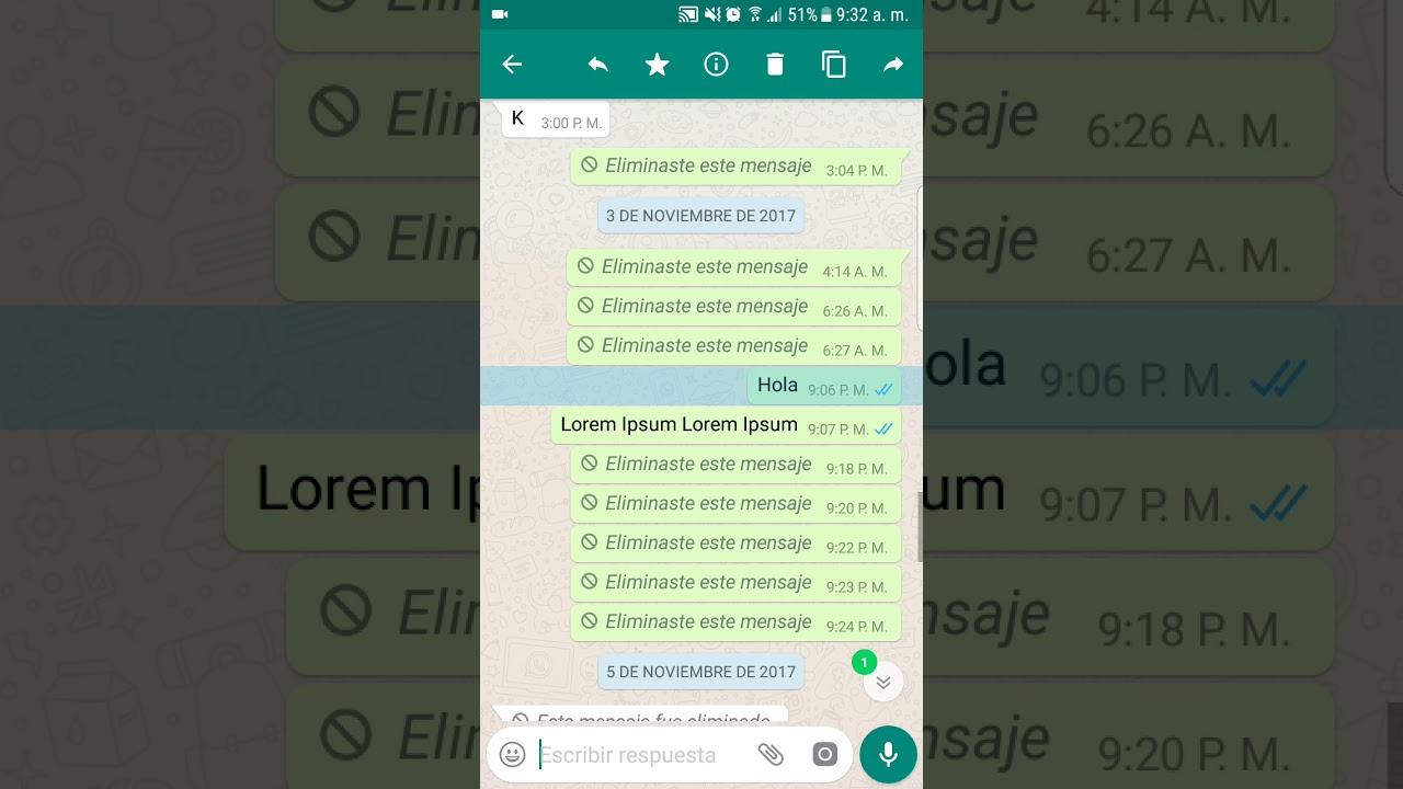 Cosa fare se ho inviato un messaggio per errore in WhatsApp? 2