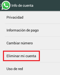 Come eliminare un account WhatsApp? 2