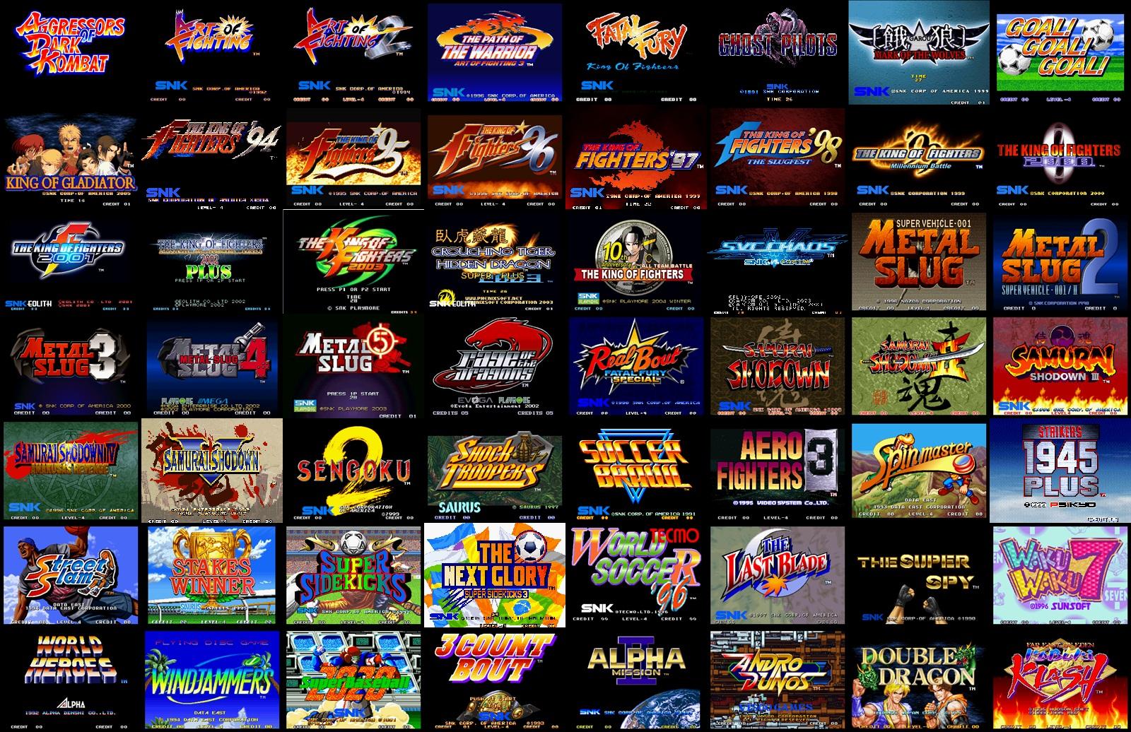 Compilazione dei migliori emulatori e giochi classici per Android 1