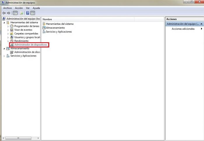 Come accedere a Gestione dispositivi di Windows 7? Guida passo passo 3