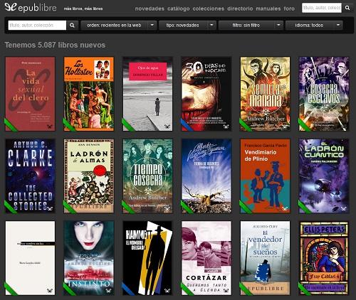 Quali sono le pagine migliori per scaricare libri digitali, ePub, eBook o PDF? Elenco 2019 8