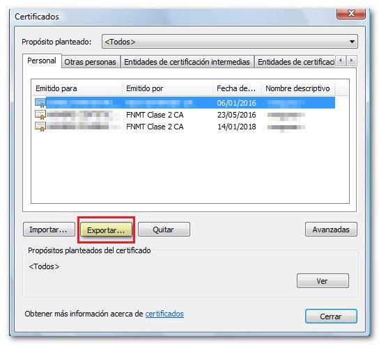 Come esportare un certificato digitale su un'unità flash USB per importarlo su un altro computer? Guida passo passo 4