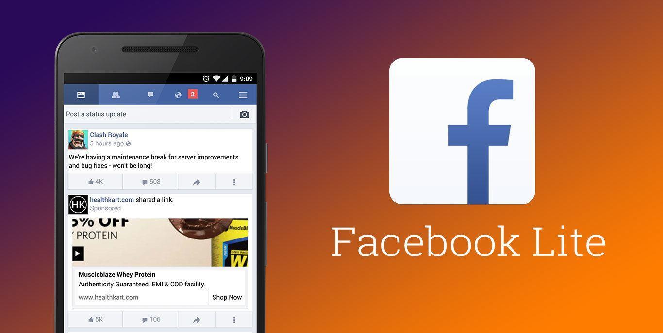 Facebook Lite è aggiornato 1