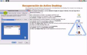 Come interrompere Active Desktop Recovery in Windows XP? 11