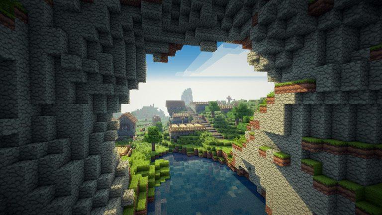 Come scaricare sfondi / immagini di Minecraft 3