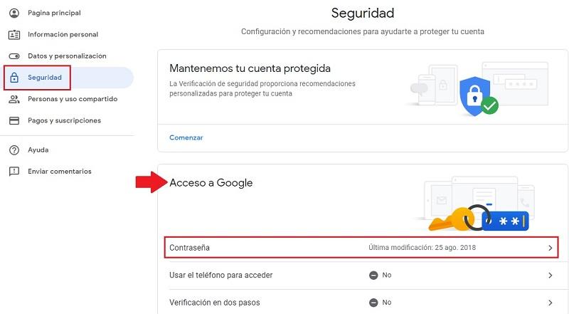 Come configurare la sicurezza di un account Google per proteggere completamente il tuo dispositivo? Guida passo passo 3