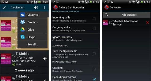 Le migliori applicazioni per registrare le chiamate sul Samsung J5 o J7 3