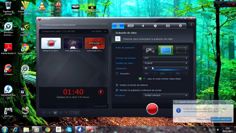 Programmi per registrare lo schermo del mio PC 1
