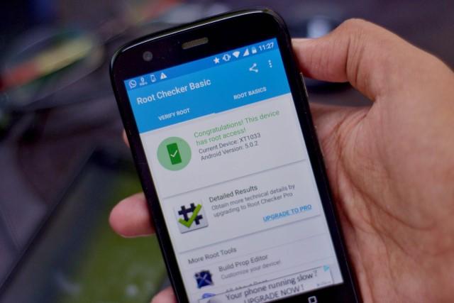 Come eseguire il root Motorola Moto Z Gioca con TWRP Recovery 1