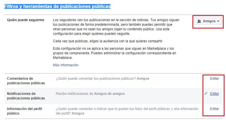 Come configurare Facebook in spagnolo e migliorare la mia privacy sui social network? Guida passo passo 17