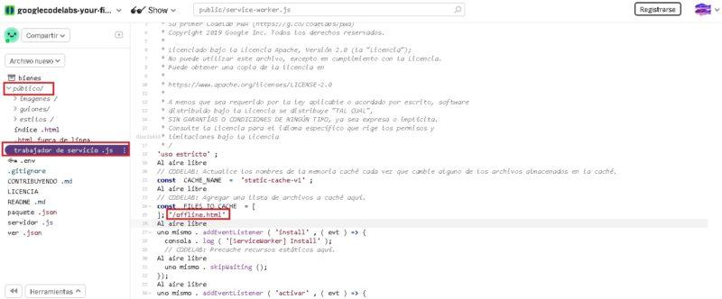 Come creare da zero un'applicazione WEB progressiva (PWA) con conoscenze di base sulla programmazione? Guida passo passo 4