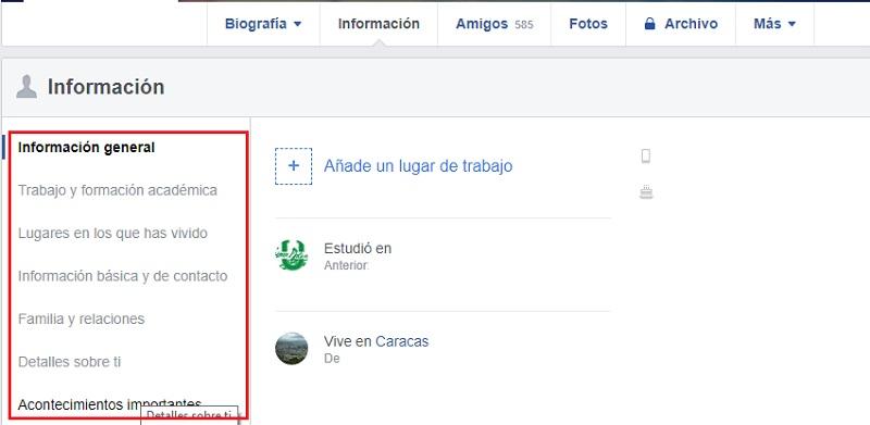 Come configurare Facebook in spagnolo e migliorare la mia privacy sui social network? Guida passo passo 13