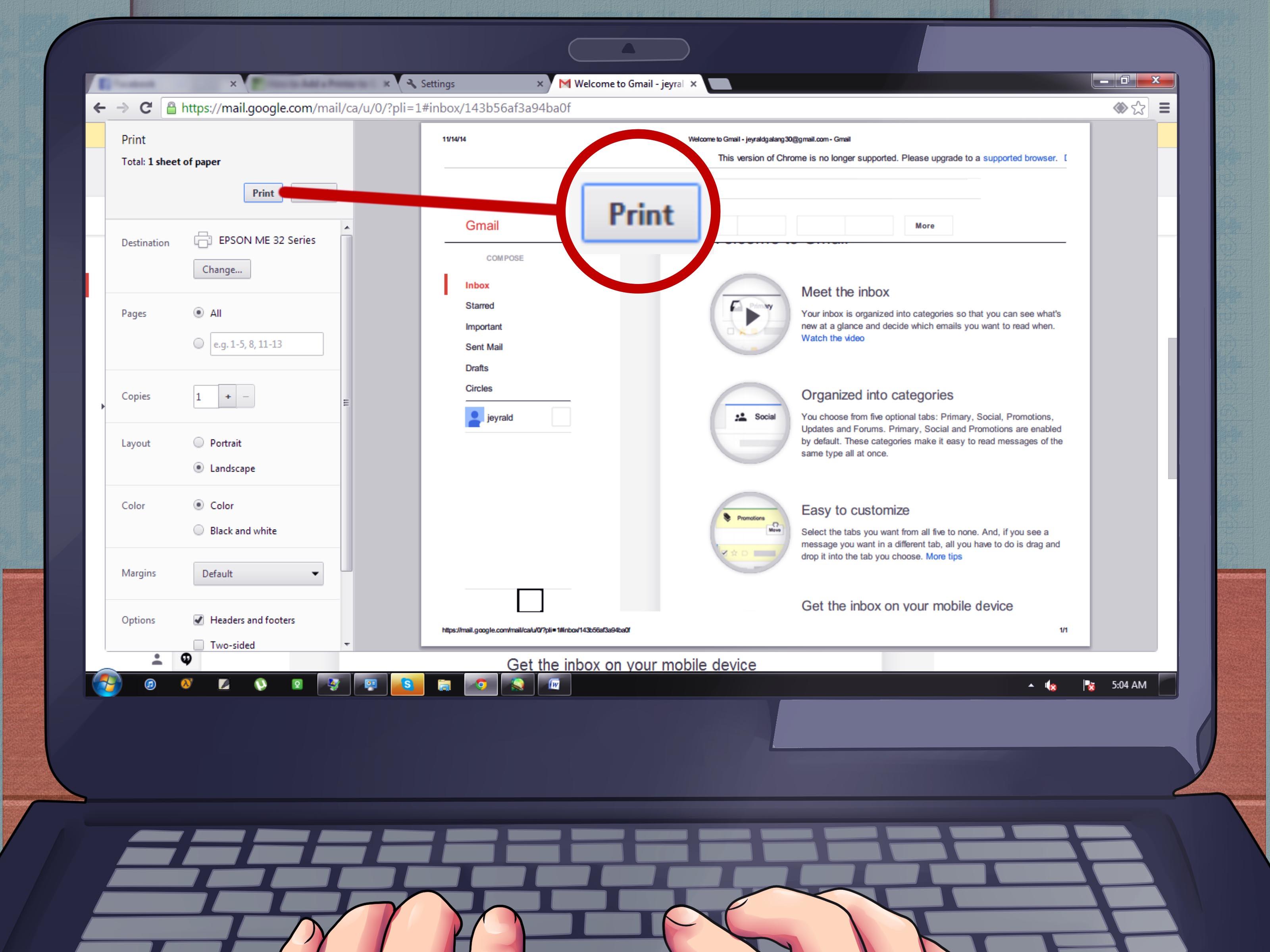 Come installare una stampante sul tuo Chromebook? 2