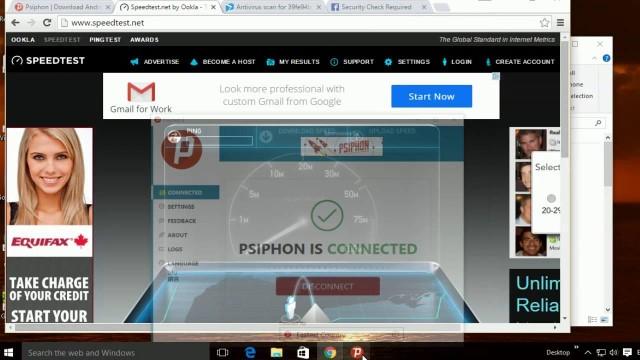 Come installare e configurare Psiphon per PC il miglior proxy per Windows 1