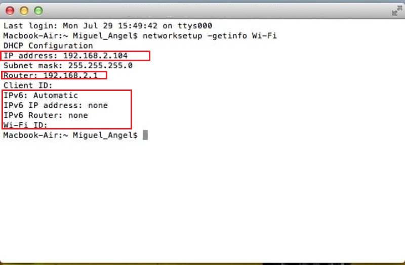 Come sapere qual è l'indirizzo IP del mio computer Windows, Linux o MacOS? Guida passo passo 2