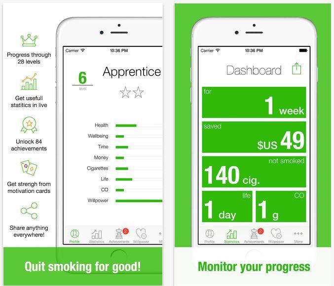App per smettere di fumare 2