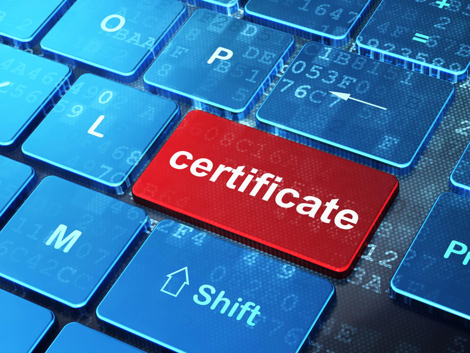 Come importare ed esportare un certificato digitale? 2