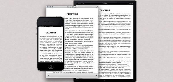 Leggi ePub su iPhone e iPad 1