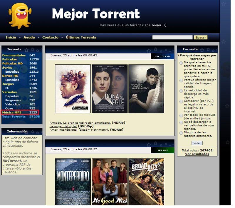 Quali sono le pagine migliori per scaricare musica Torrent? Elenco 2019 9